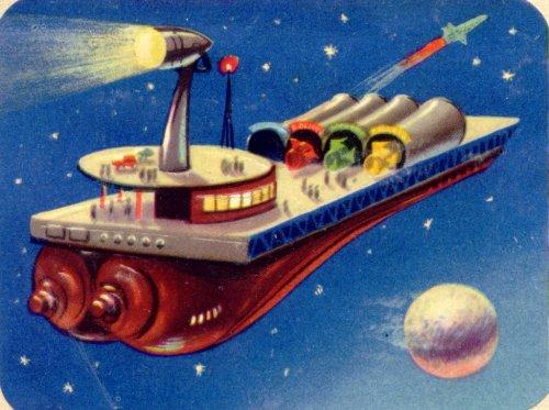 French futuristic image