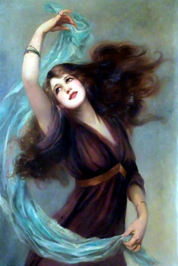 Esme Dancing by Beatrice Offor, 1907