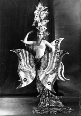 Folies Bergere Dancer