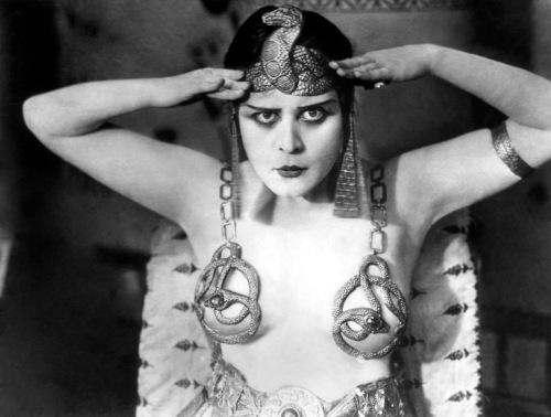 Theda Bara as Cleopatra (1917)