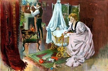 Santa's first visit, 1899