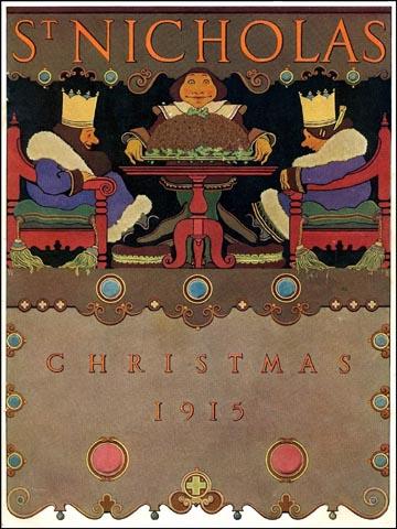 cover of st nicholas magazine, 1915