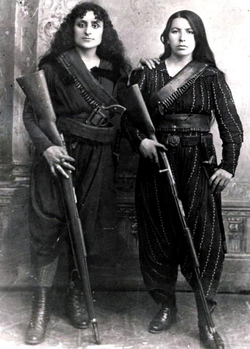 Armenian Women with Rifles