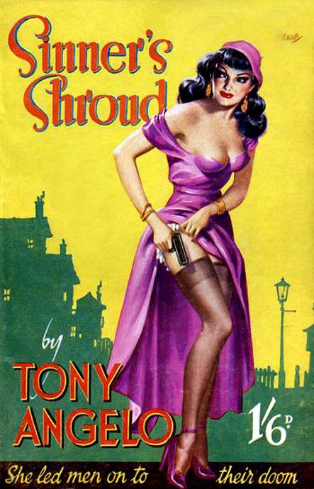 Book cover: sinner's shroud